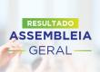 Resultado Assembleia Geral 2020