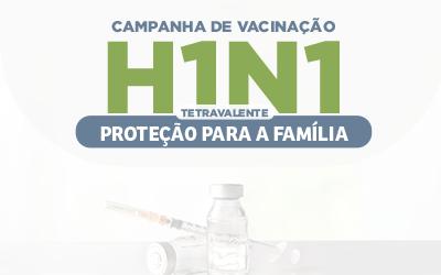 Campanha de Vacinação para o H1N1